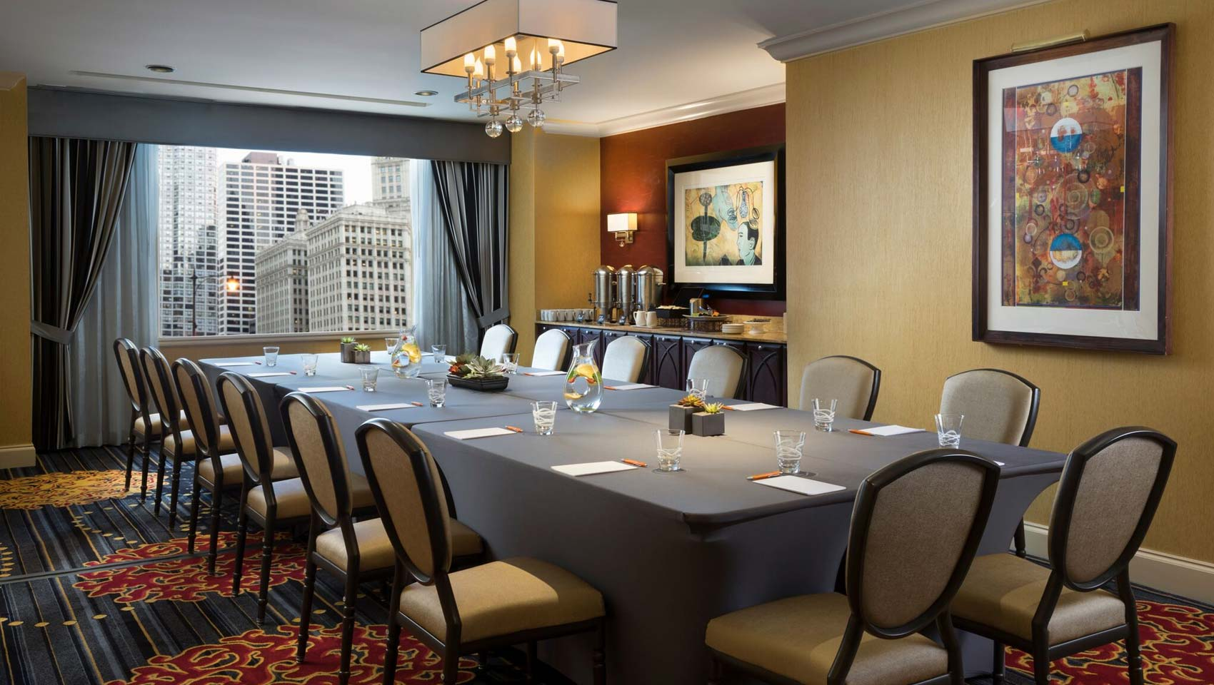 Kimpton Hotel Monaco Chicago Meeting Room