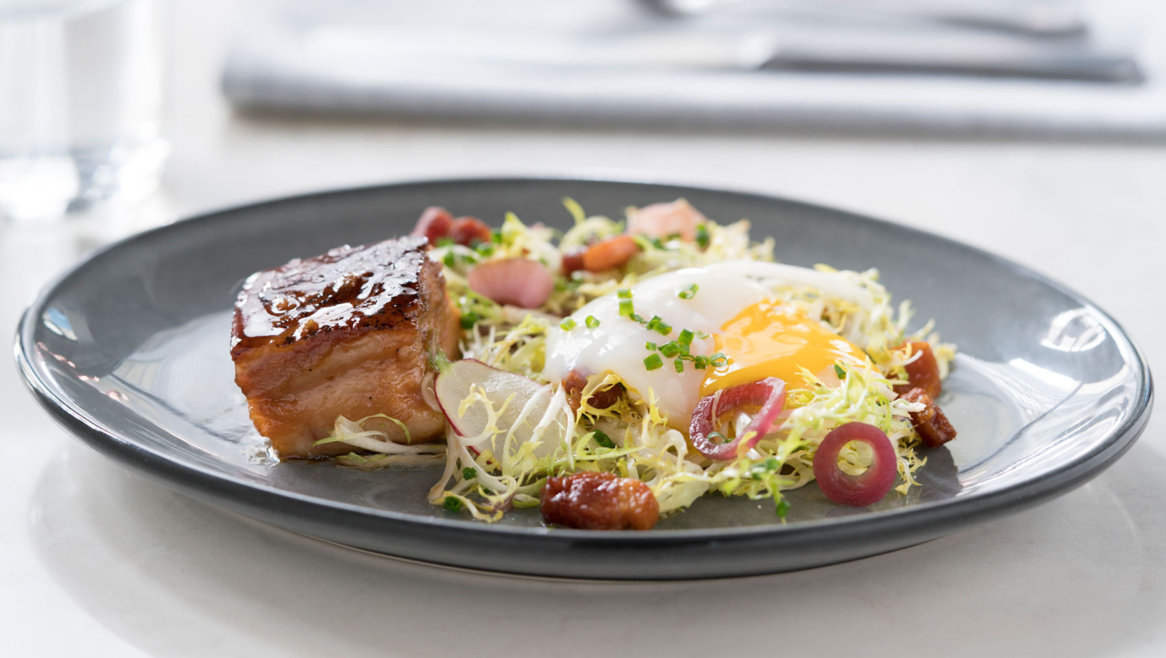 Pork belly & Egg