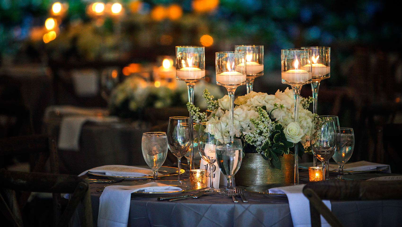 Monaco Wedding Table Setting